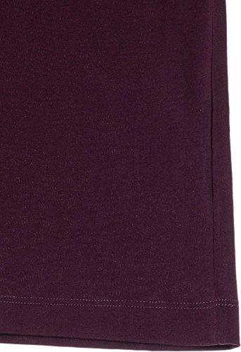 Rosso shirt Bordeaux Print Logo T Balmain Stampata Pierre Maglietta nHR0pp