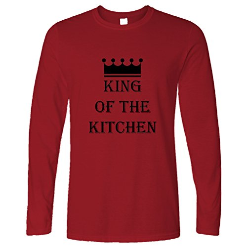Tim And Ted King Of The Kitchen Master Chef Cooking Cook Funny Slogan Long Sleeve