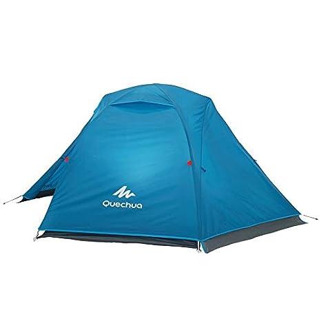 Decathlon - Tienda de campaña Arpenaz Camping Family, Hombre, ARPENAZ 2 GREEN: Amazon.es: Deportes y aire libre