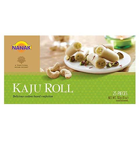 Nanak Kaju Roll (Cashew Sweet) - Kaju Roll