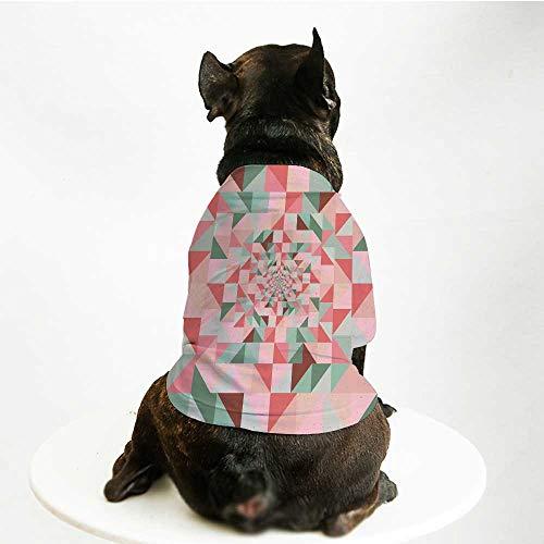 YOLIYANA Retro Skin Friendly Pet Suit,Unusual Art Composition