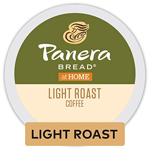 (Panera Bread Light Roast, Single Serve Coffee K Cup Pod, 100% Arabica Coffee, 72Count)