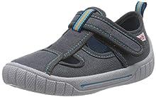 superfit Bill, Zapatillas de Estar por casa para Niños, Gris Gr 20, 24 EU