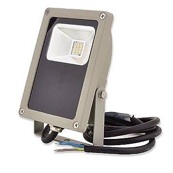 LEDwholesalers 15 Watt LED Outdoor Security LED Flood Light, White, 3717wh