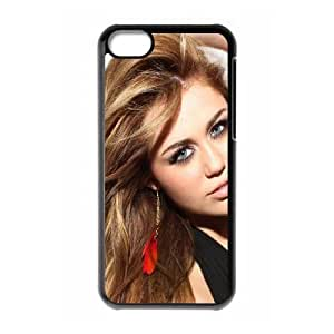 iPhone 5c Cell Phone Case Black Miley Cyrus AEW Cool Phone Covers