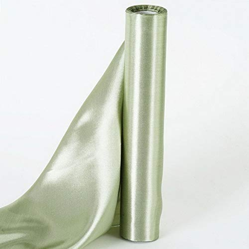 Mikash 12 x 30 feet Satin Fabric DIY Wedding Party Decorations Crafts Sewing Supplies | Model WDDNGDCRTN - 5540 | ()