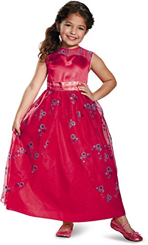 Elena Ball Gown Classic Elena of Avalor Disney Costume, X-Small/3T-4T