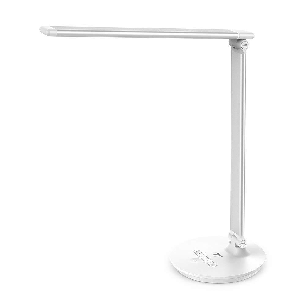 Lámpara Escritorio LED TaoTronics Luz Lectura 7W (Función de Memoria, Control Táctil, 7