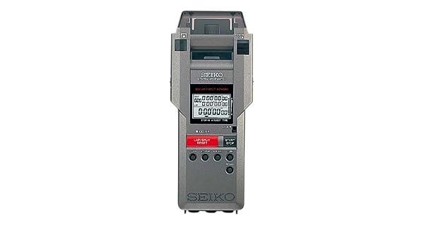 Seiko svas007 integrado impresora cronómetro: Amazon.es: Deportes ...