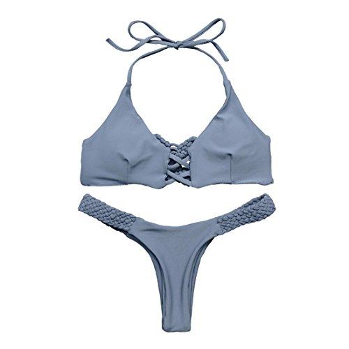 MOOSKINI Brazilian Braided Swimsuit Swimwear