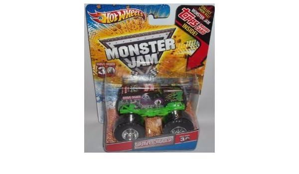 Amazon.com: 4KIDS Toy / Game Hot Wheels Monster Jam Grave ...