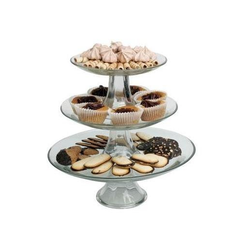Price comparison product image Anchor Hocking 3-Tier Presence Platter Set by Anchor Hocking