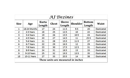 AJ Dezines Kids Indian Wear Bollywood Style Kurta Pyjama Waistcoat for Boys (617-MAROON-7) by AJ Dezines (Image #5)