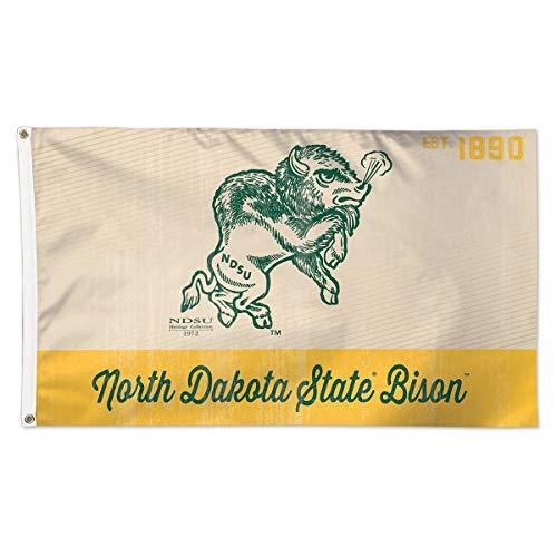 Wincraft North Dakota State Bison Heritage Est. 1890 3x5 College Flag