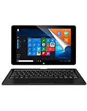 "ALLDOCUBE iwork10 Pro 2 in 1 Tablet PC con Teclado, Pantalla IPS 10.1"" 1920x1200 , Windows 10 + Android, Intel Atom X5 Z8350 Quad Core, 4GB RAM 64GB ROM, Color Negro"