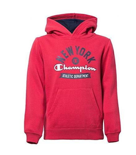 Champion Sudadera New York Athletic Department Rojo Niño: Amazon.es: Ropa y accesorios