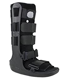 Air Cam Walker Fracture Cast Boot, Medical / Orthopedic Boot (Large, Tall)