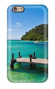 Fashion Tpu Case For Iphone 6- Beaches Malaysia Defender Case Cover by Maris's Diary