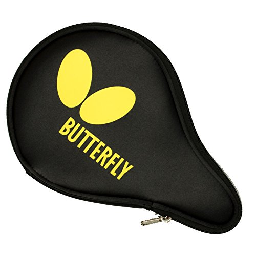 Butterfly Logo Full Ping Pong Paddle Case - Fits 1 Ping Pong Paddle - Full Protection for Your Table Tennis Racket (Table Tennis Paddle Cover)