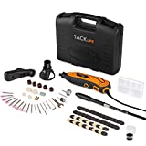 Tacklife Multi-Functional Rotary Tool Kit with 80 Accessories and 4 Attachments Variable Speed with Flexible Shaft for Home Improvement or Crafting Projects | RTD35ACL
