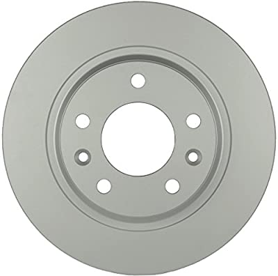 Bosch 20011481 QuietCast Premium Disc Brake Rotor For Ford: 2006-2012 Fusion; Lincoln: 2007-2012 MKZ, 2006 Zephyr; Mazda: 2009-2013 6, 2003 Protege; Mercury: 2006-2011 Milan; Rear