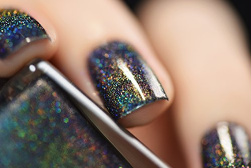 Ilnp Missed Calls Black Holographic Nail Polish Buy
