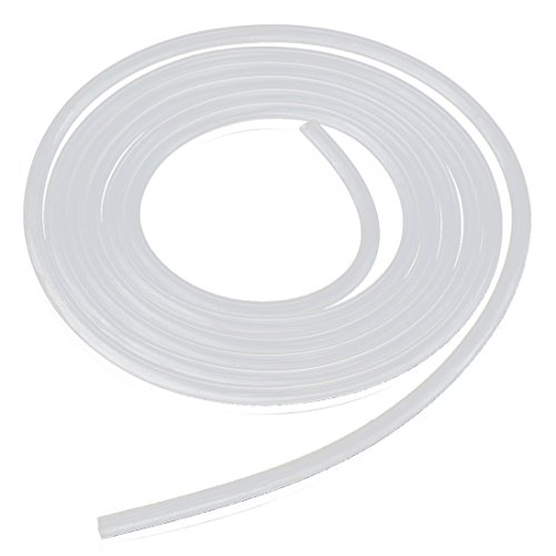 silicone tube - TOOGOO(R)2 meter silicone tube silicone tube pressure hose highly flexible 8 10mm