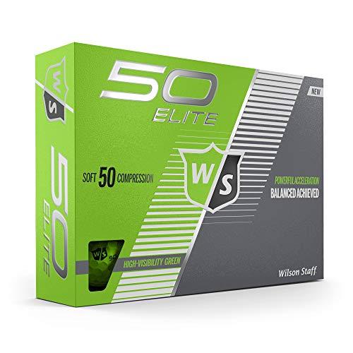 Wilson Staff Fifty Elite Golf Ball, -