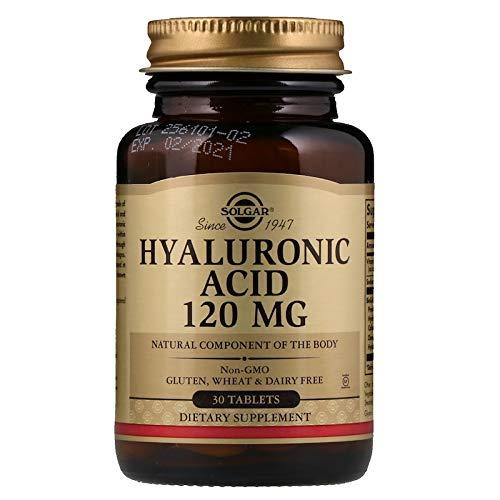 Solgar - Hyaluronic Acid 120 mg, 30 Tablets