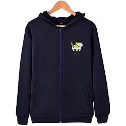 Cute Cat Butt Outdoor Mens Zip Up Hoodie Lightweight Pocket Sweatshirt Pullover Jacket