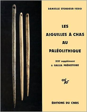 Livre Les aiguilles à chas au paléolithique pdf epub