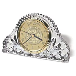 Wisconsin Badgers - Classic Crystal Table Clock