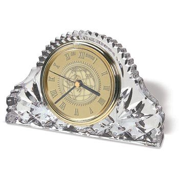 Texas Christian TCU Horned Frogs Classic Crystal Table Clock by Alumni Gift