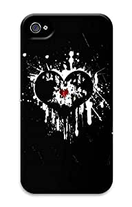 iPhone 4S Case Cool Graffiti Love Pattern Hard Back Skin Case Cover For Apple iPhone 4 4G 4S Cases
