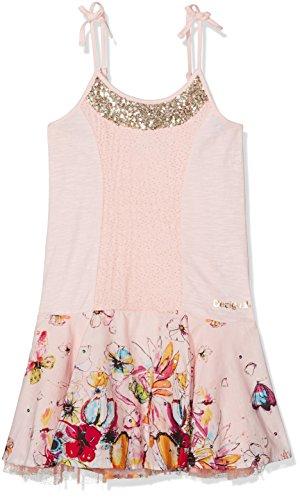 Desigual Toddler Girls' Vest_luanda Dress, Frozen Pink, 5/6