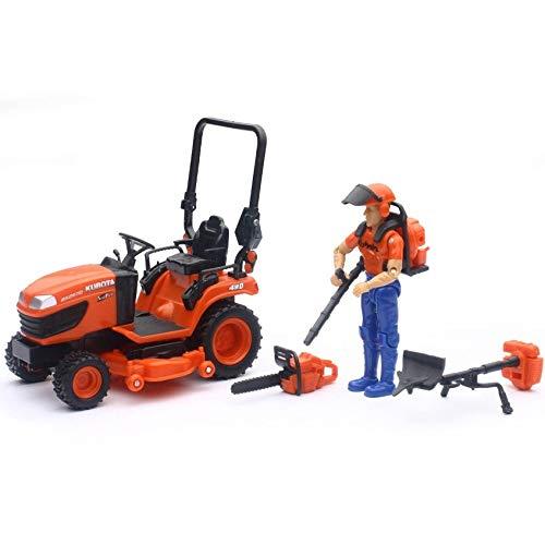 Amazon.com: Kubota KX2670 - Tractor de césped con figura y ...