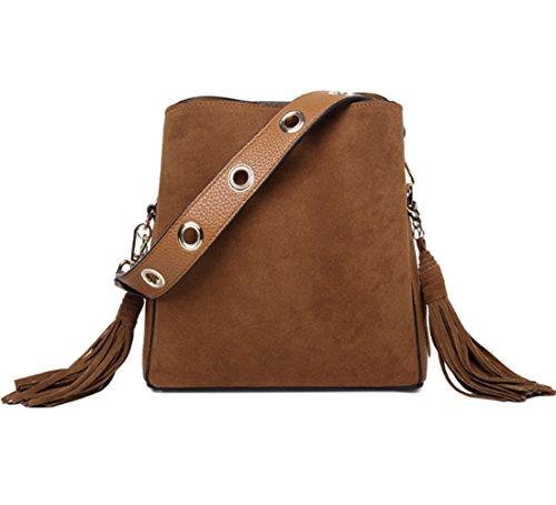 Bag Suede Fabric Retro...