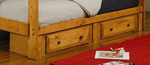 Coaster 460097 Transitional Under Bed Storage, Amber Wash by Coaster Home Furnishings