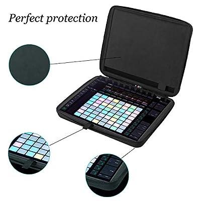 BUBM Portable Hard-shell EVA Travel Case For Ableton Push 2 Controller (Black) by BUBM