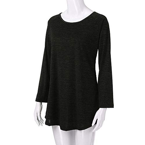 Manches Tops Longues T Noir Chemise Grande Pullover 5XL Subfamily Hiver Haut Manches Blouse Femme Longues Taille Shirt S Chaud weatshirt SF5zqn4x