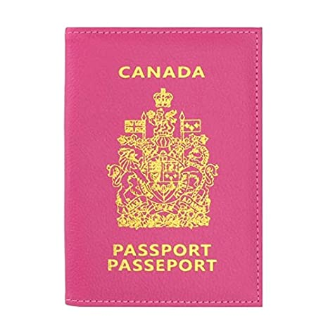 Amazon.com   Canada Passport Holder Protector Wallet ...