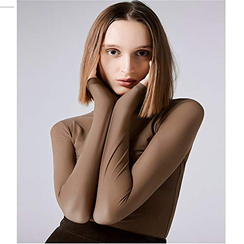 Autunno Maglietta E Caffè A Lunghe T Maglia Velluto Maniche Da Intima Donna Shirloy Del Colore In Più Con shirt Primavera IxwvqRAnnz