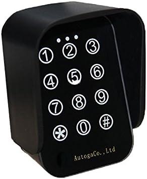 Teclado inalámbrico teclado Código de radio 433 mhz codelock ...