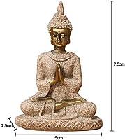 LKXZYX Boda Decoracion Buda budas Figuras de Grandes Salon candelabros Jardin Exterior Estatua Sentado Meditación Escultura Buda Estatuilla Hecha A Mano: Amazon.es: Hogar