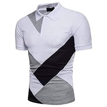 Adelina Camisa De Polo para Hombre Solapa Básica De Ropa Verano ...