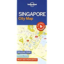 Lonely Planet Singapore City Map 1st Ed.
