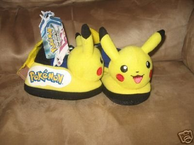 Pokemon Slipper Shoes Toddler Size 5-6 for Age 3-4