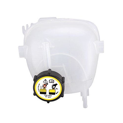 FLYN 9202200 Pressurized Coolant Reservoir Tank With Cap for 2003-2010 Saab 9-3