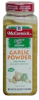 Lawry's Garlic Powder Coarse Grind With Parsley, 24 oz Coarse Powder