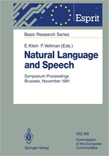Natural Language and Speech: Symposium Proceedings Brussels, - Ebooks